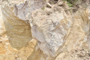white soil